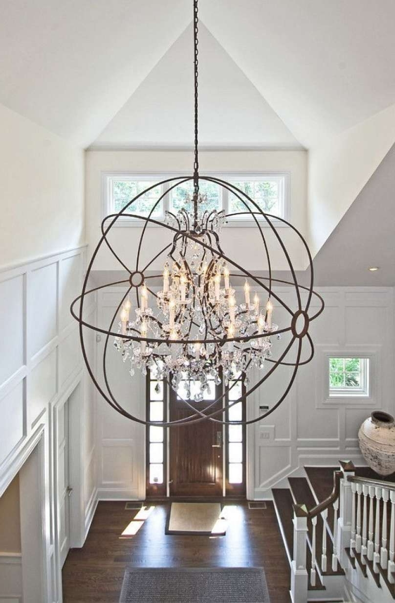 Newest Antique Bronze Crystal Chandelier Images (View 9 of 15)