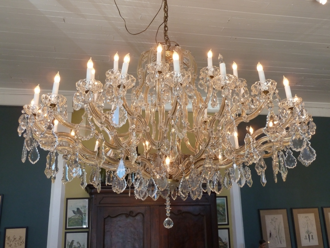 Newest Chandelier: Stunning French Crystal Chandelier French Empire Intended For French Chandeliers (View 15 of 15)