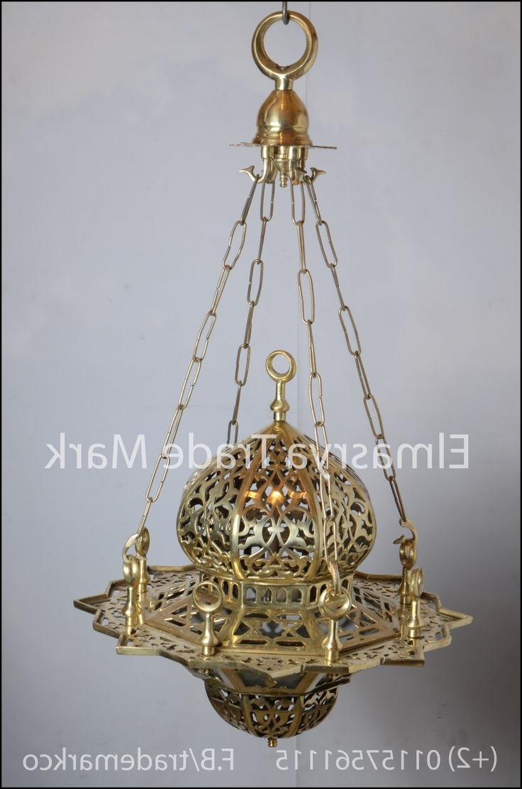 Newest Egyptian Chandelier For 7 Best Moroccan & Egyptian Brass Chandelier Lighting Images On (View 13 of 15)