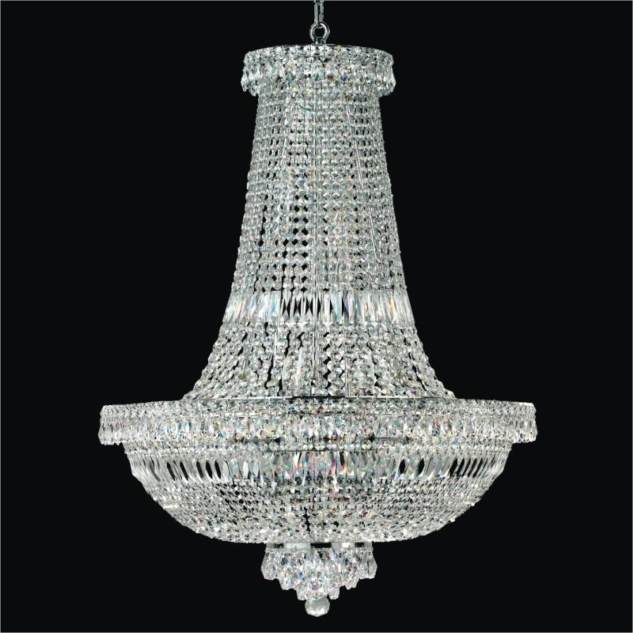 Newest Empire Crystal Chandelier – Large Crystal Chandeliers (View 11 of 15)