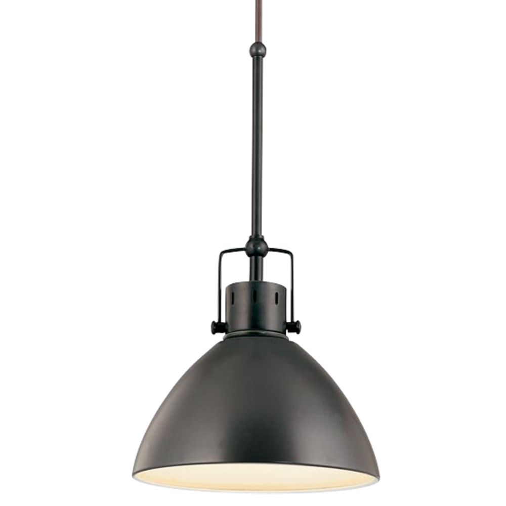 Newest Retro Cone Mini Pendant Light In Aged Bronze (View 7 of 15)