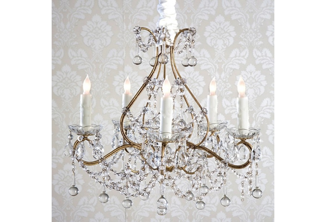 Newest Shabby Chic Chandeliers Regarding Chandelier (View 10 of 15)