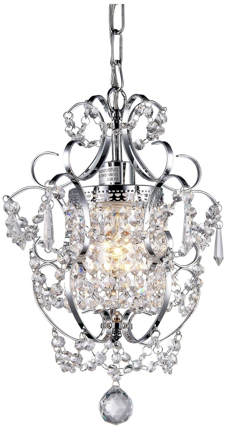 Newest Small Chrome Chandelier With Regard To Whse Of Tiffany Rl4025 Jess Crystal Chandelier – – Amazon (View 7 of 15)