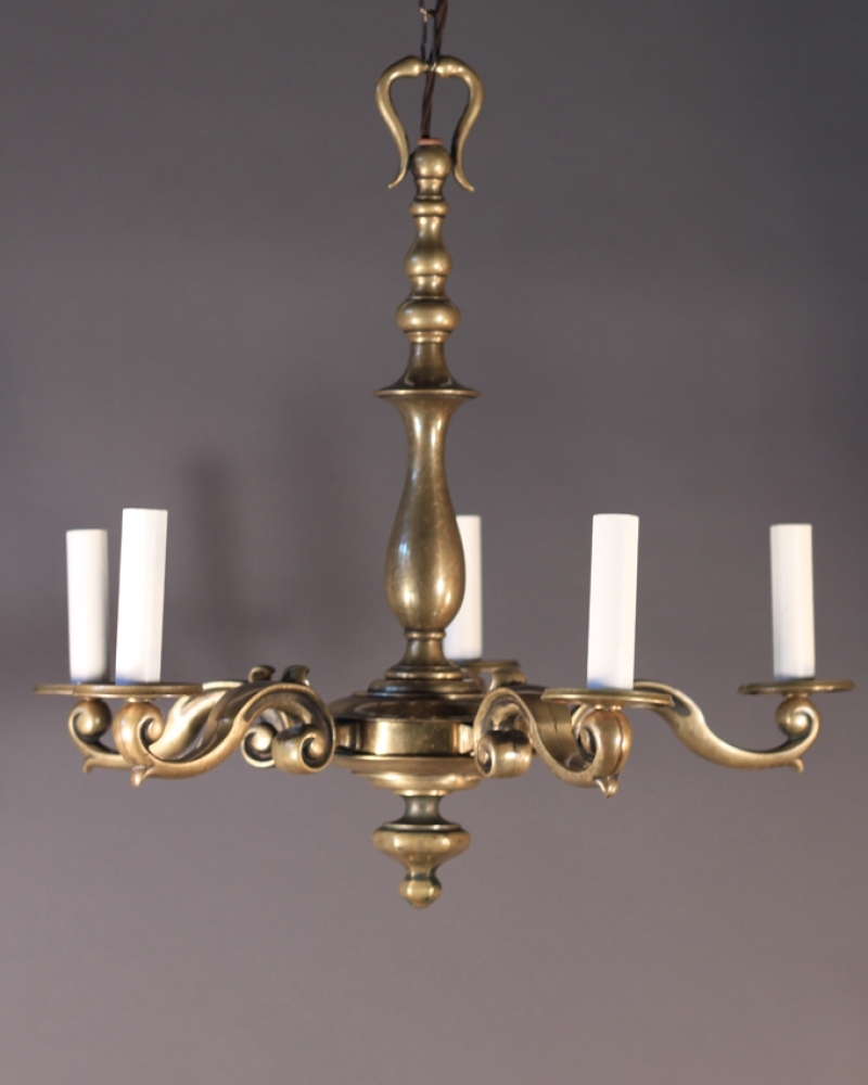 Old Brass Chandeliers Pertaining To Preferred Fabulous Antique Brass Chandelier On Fresh Home Interior Design With (View 11 of 15)