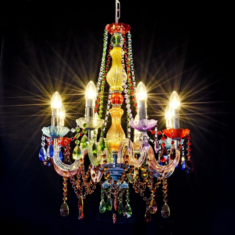 Pendant Lights ~ Chandelier : Chandelier Egyptian Chandelier Perspex Within Famous Multi Colored Gypsy Chandeliers (View 6 of 15)