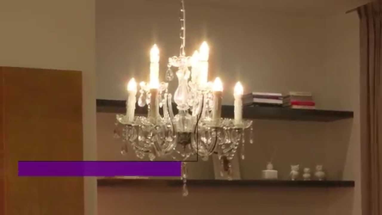 Philips Led Decorative Candle Bulbs – Youtube Within Favorite Led Candle Chandeliers (View 15 of 15)