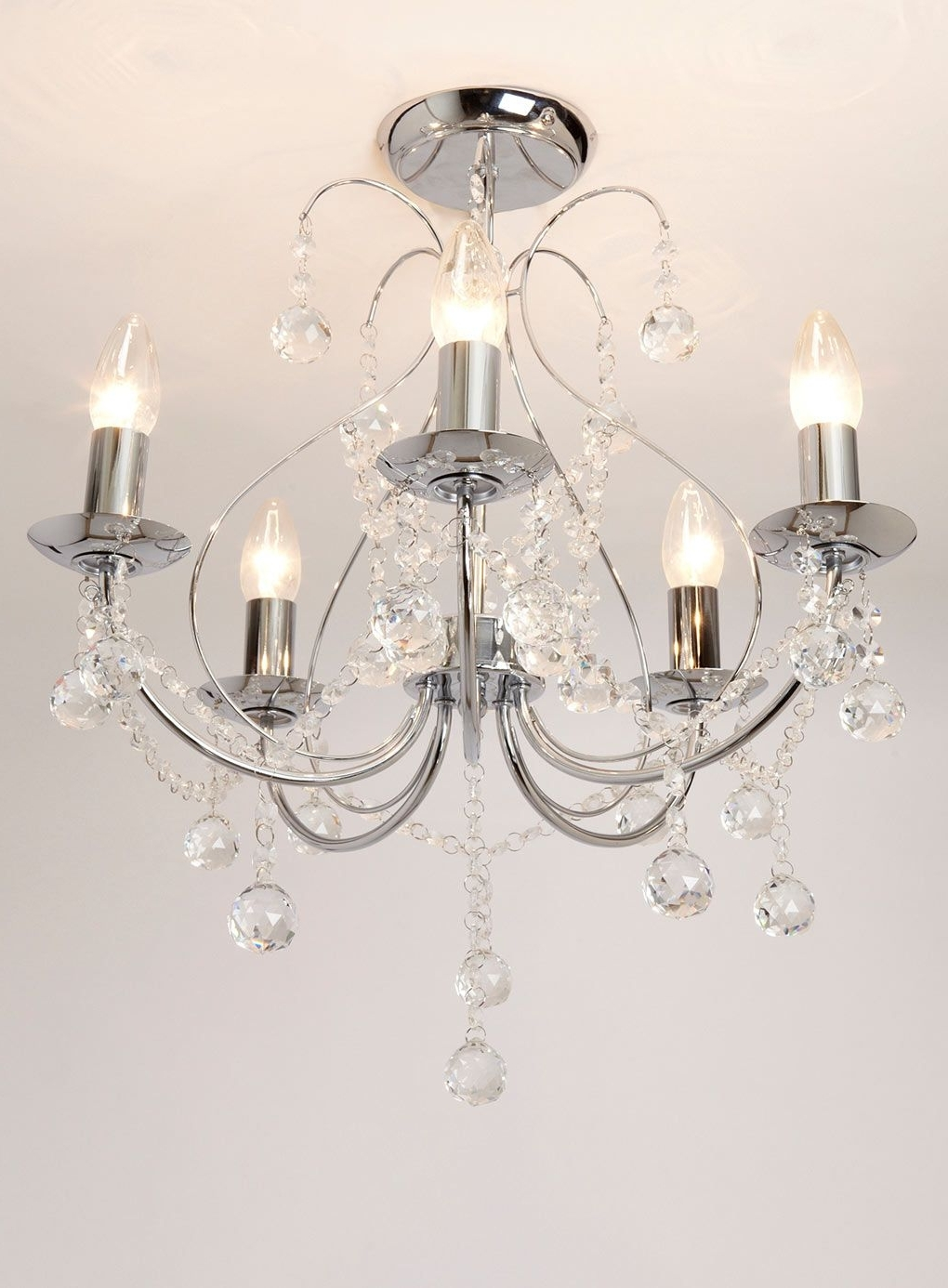 Featured Photo of Flush Fitting Chandelier