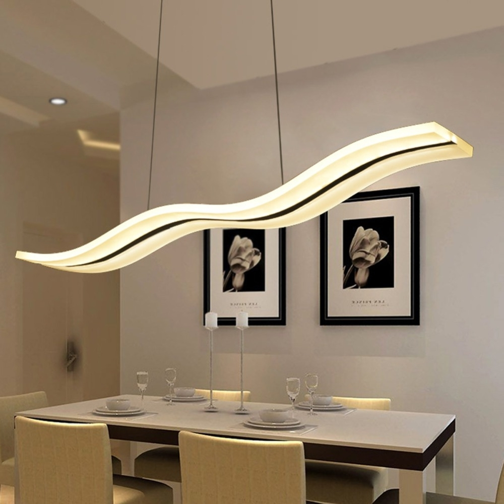 Popular Led Modern Chandeliers For Kitchen Light Fixtures Home Lighting Regarding Modern Chandeliers (View 15 of 15)