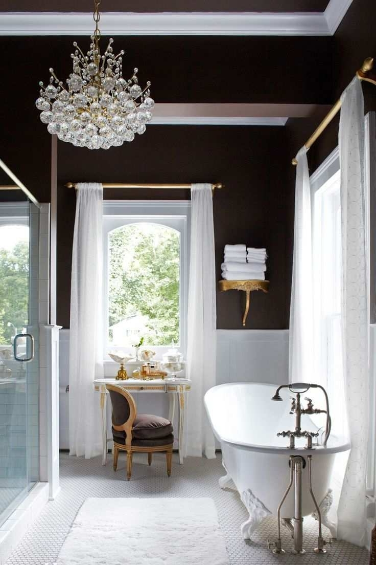 Popular Lowes Bathroom Vanity Lights Chrome New Modern Bathroom Chandelier With Modern Bathroom Chandeliers (View 12 of 15)
