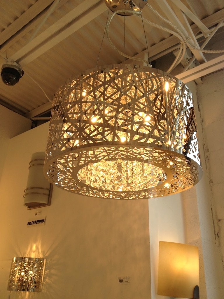 Popular Stairway Chandeliers Regarding Chandeliers Design : Awesome Extra Large Modern Chandeliers With (View 8 of 15)