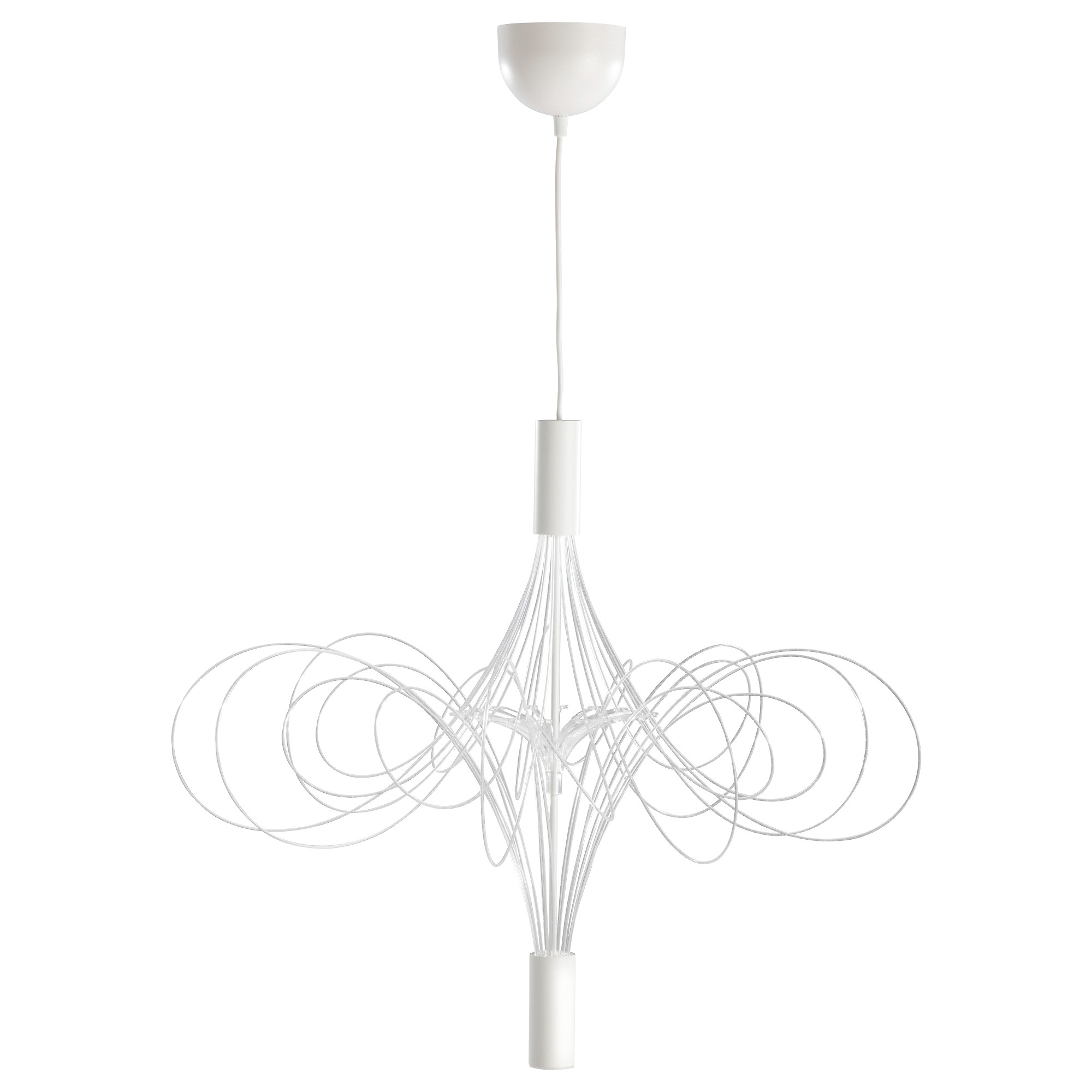 Popular White Chandelier With Älvsbyn Led Chandelier – Ikea (View 4 of 15)