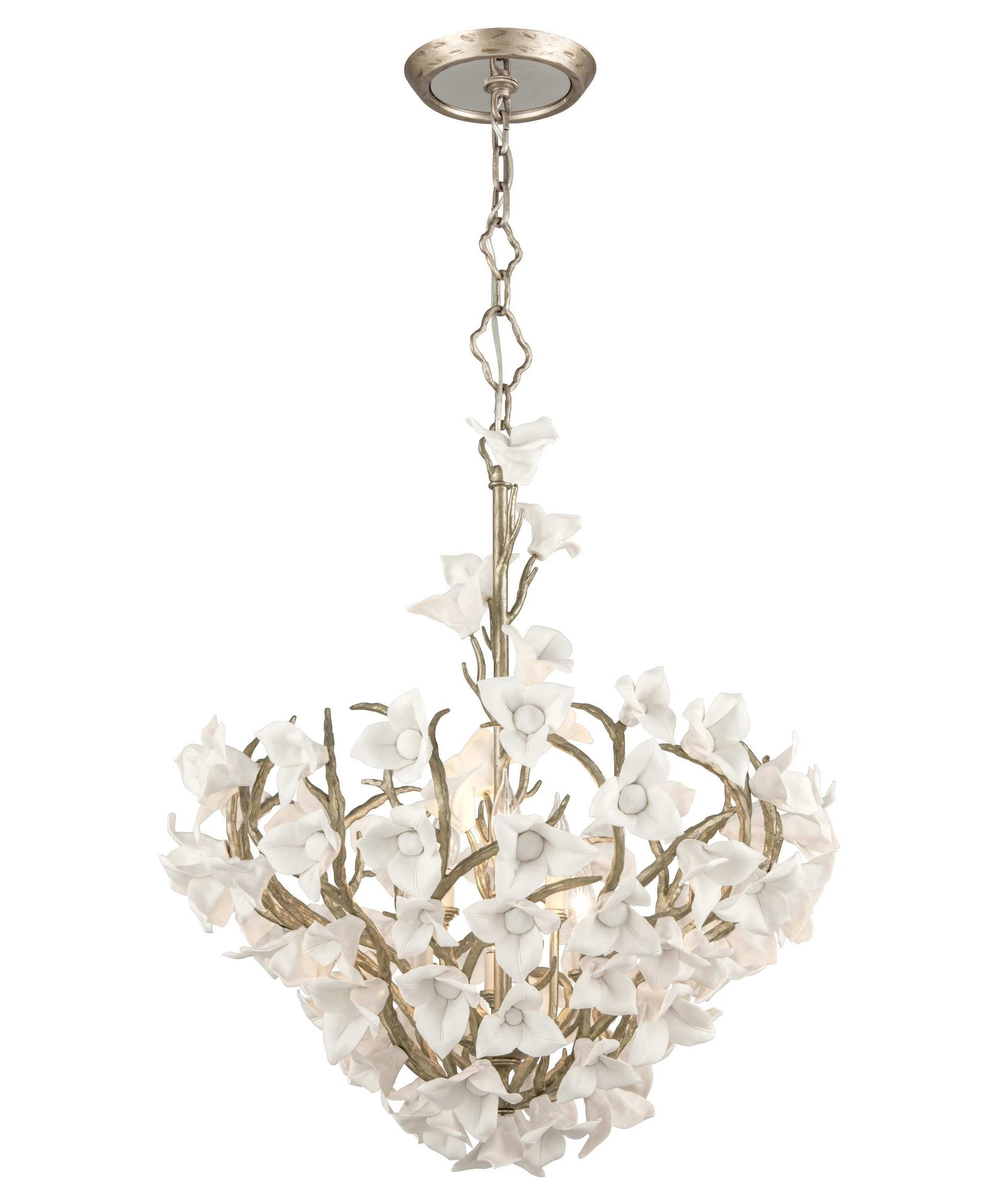 Preferred Corbett Lighting 211 47 Lily 26 Inch Wide 6 Light Large Pendant Within Lily Chandeliers (View 12 of 15)