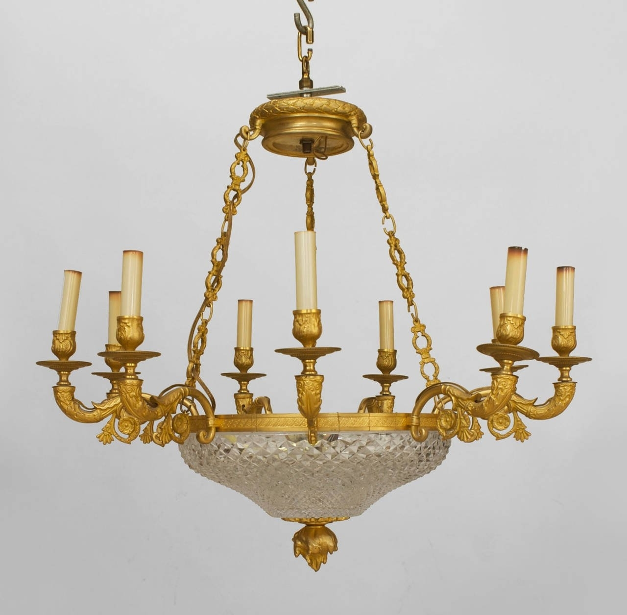 Preferred French Bronze Chandelier Intended For Late 19Th C (View 11 of 15)