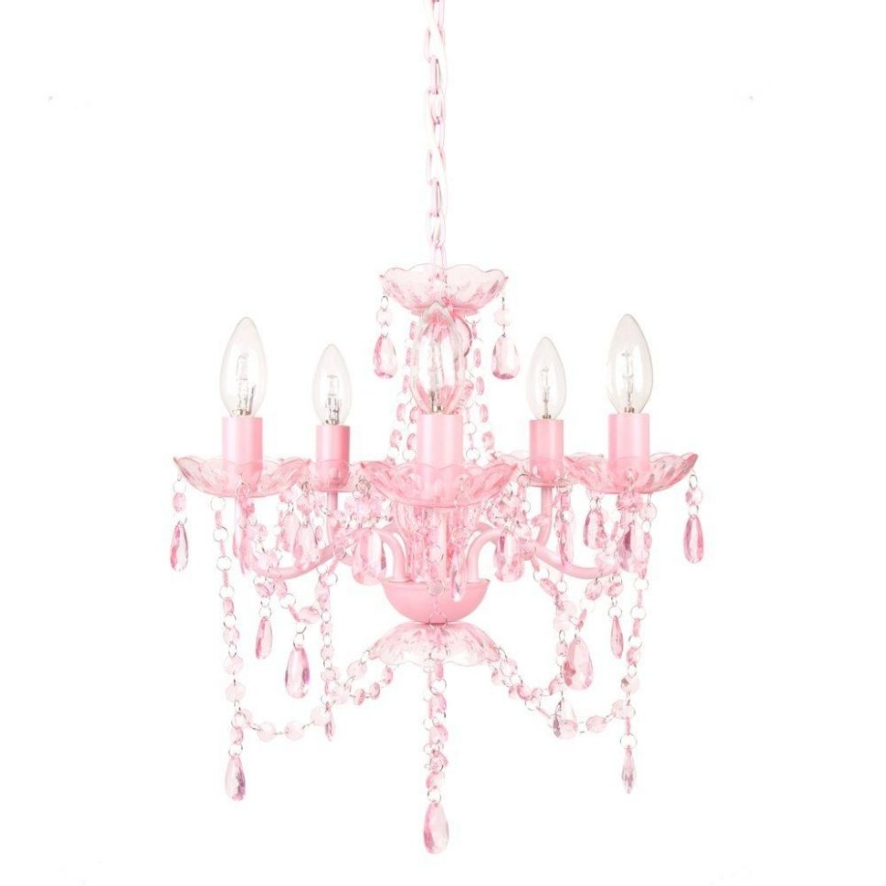 Preferred Fuschia Chandelier With Ceiling Fans : Ceiling Fan With Chandelier Light Kit Girl Stylish (View 8 of 15)