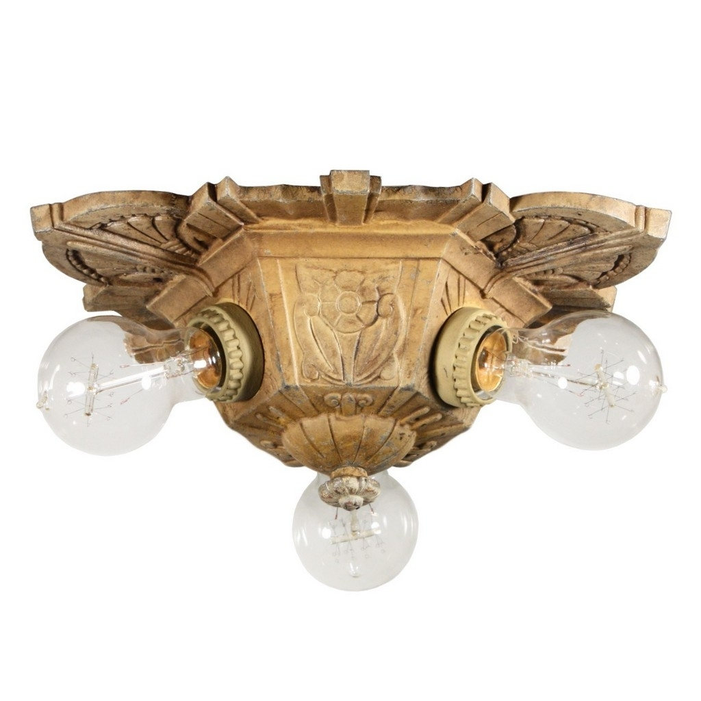Preferred Large Art Deco Chandelier Regarding Deco Lamp : Large Art Deco Chandelier Vintage Art Deco Pendant Light (View 6 of 15)