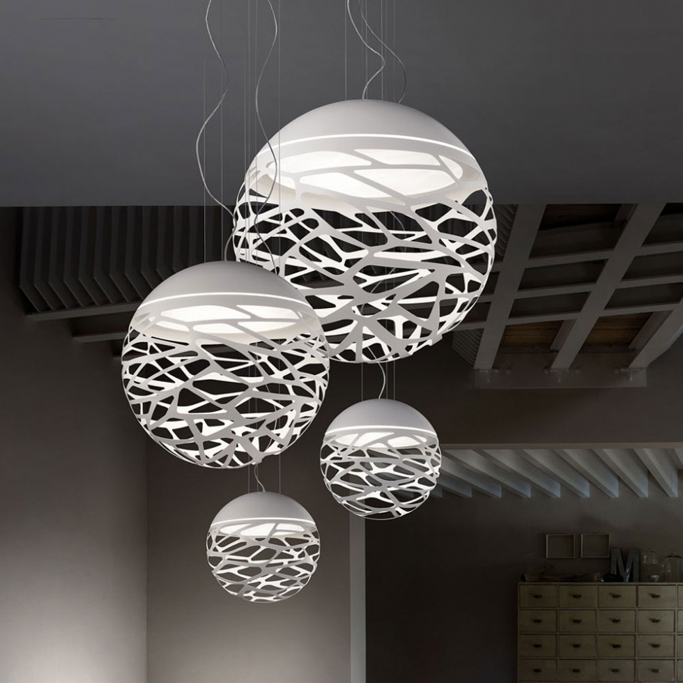 Preferred Lighting : Large Modern Pendant Light Tiffany Pendant Light Inside Long Hanging Chandeliers (View 10 of 15)