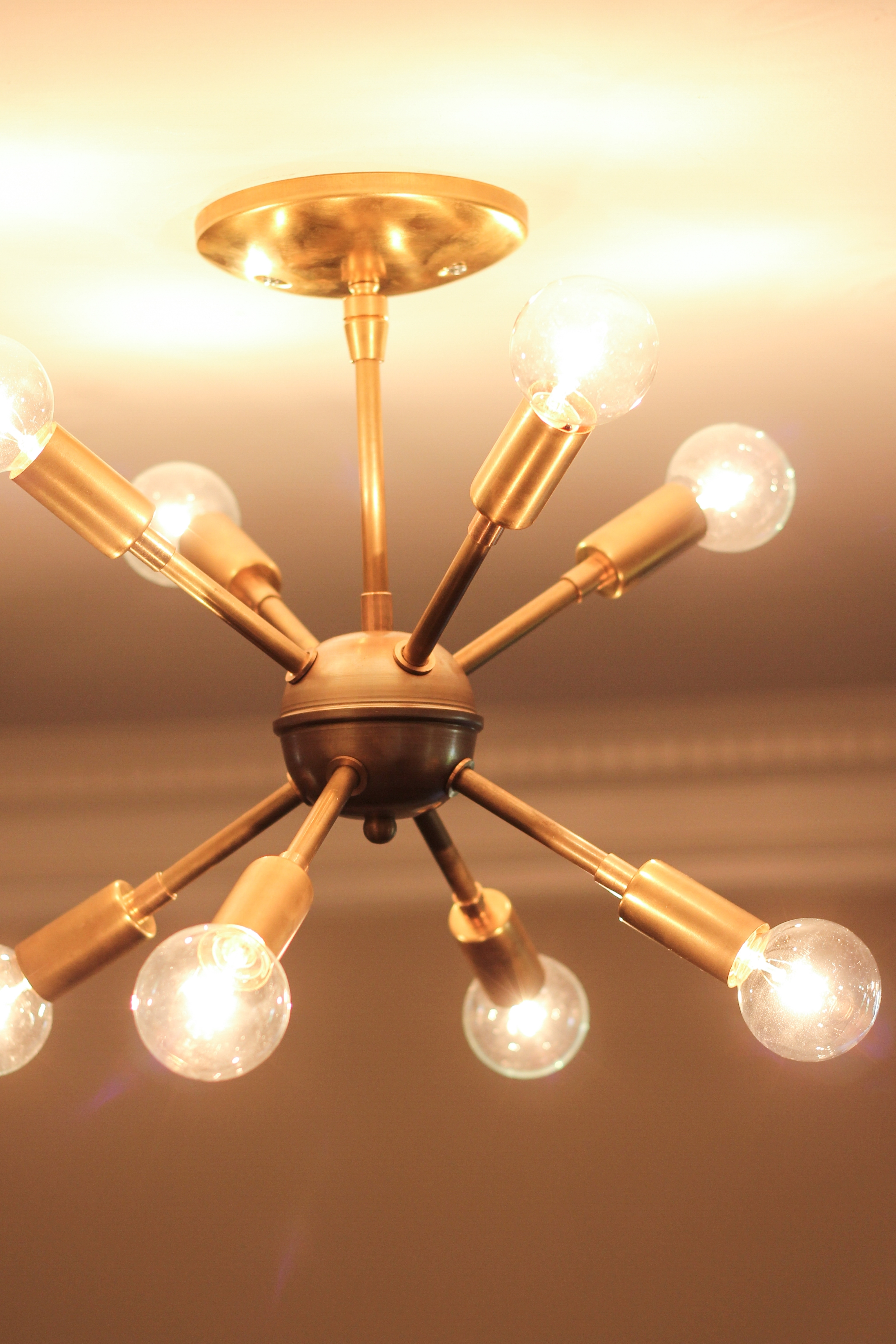 Preferred Mini Sputnik Chandeliers Pertaining To Lighting: Sputnik Chandelier Design With Circular Chandelier And (View 13 of 15)