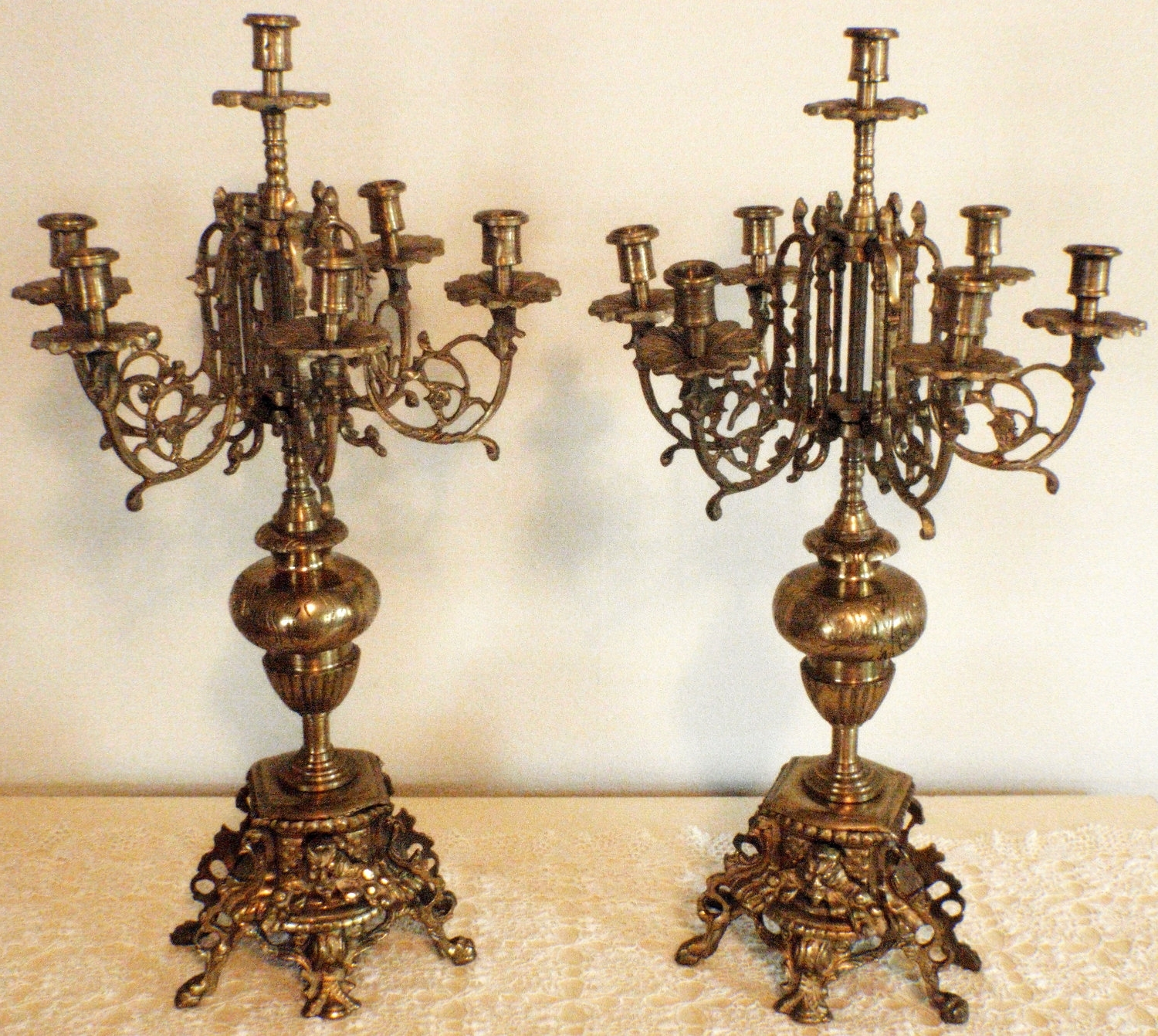 Preferred Ornate Chandeliers In Antique Candelabra – Google Search (View 8 of 15)