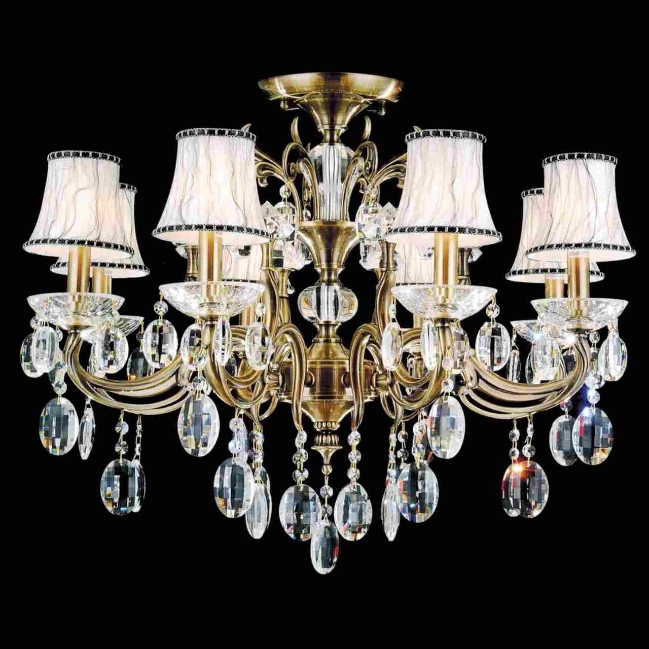 Preferred Traditional Crystal Chandeliers Throughout Brizzo Lighting Stores (View 6 of 15)