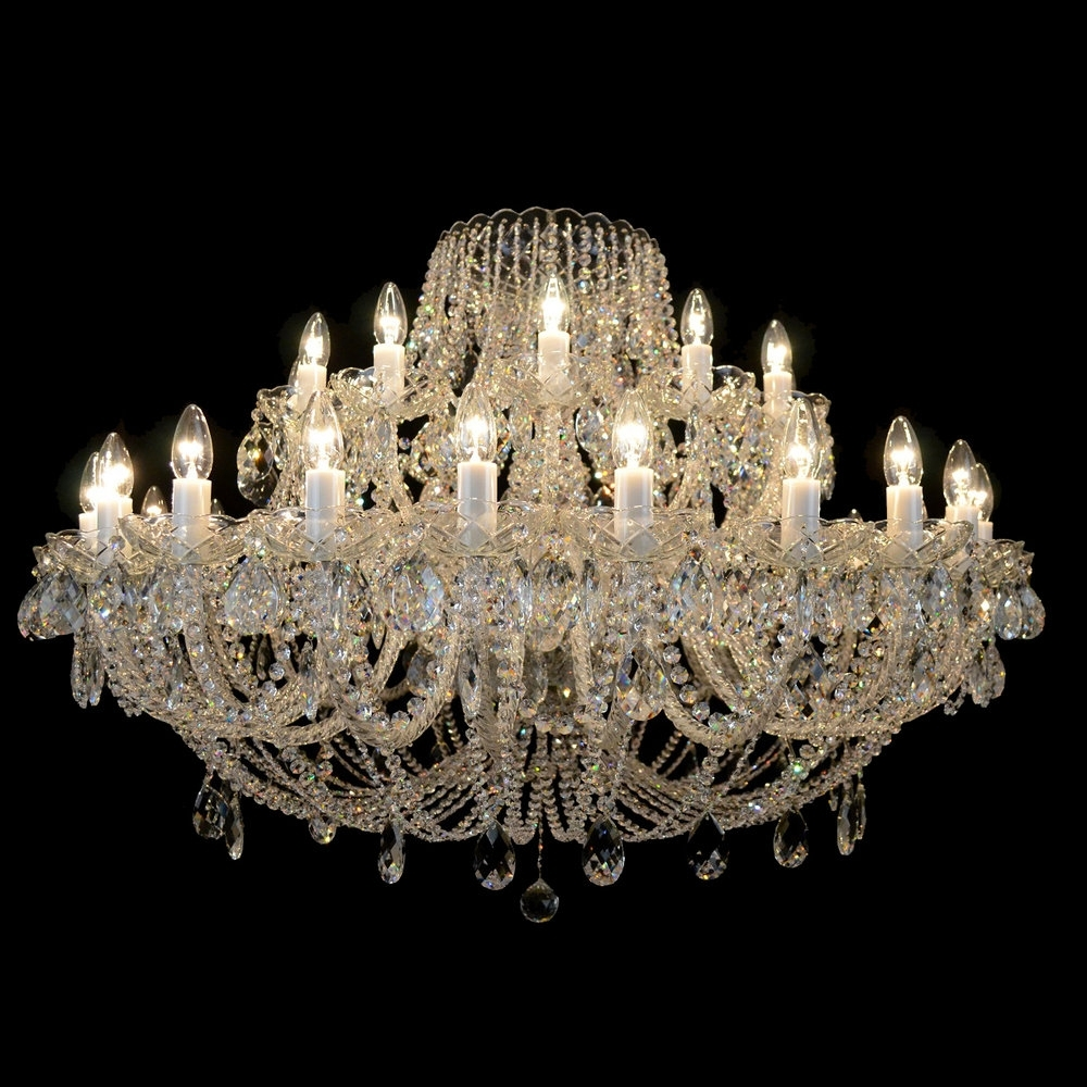 Products — Bohemian Crystal Chandeliers & Lighting From Czech Republic Intended For Well Known Traditional Crystal Chandeliers (View 13 of 15)