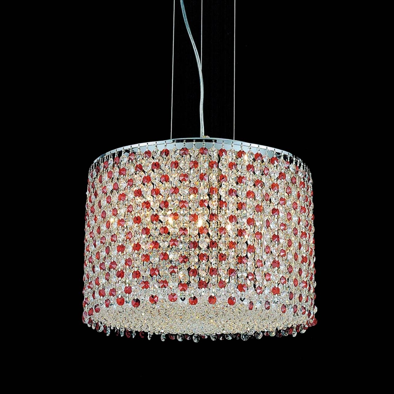 Purple Crystal Chandelier Lights For Current Brizzo Lighting Stores (View 7 of 15)