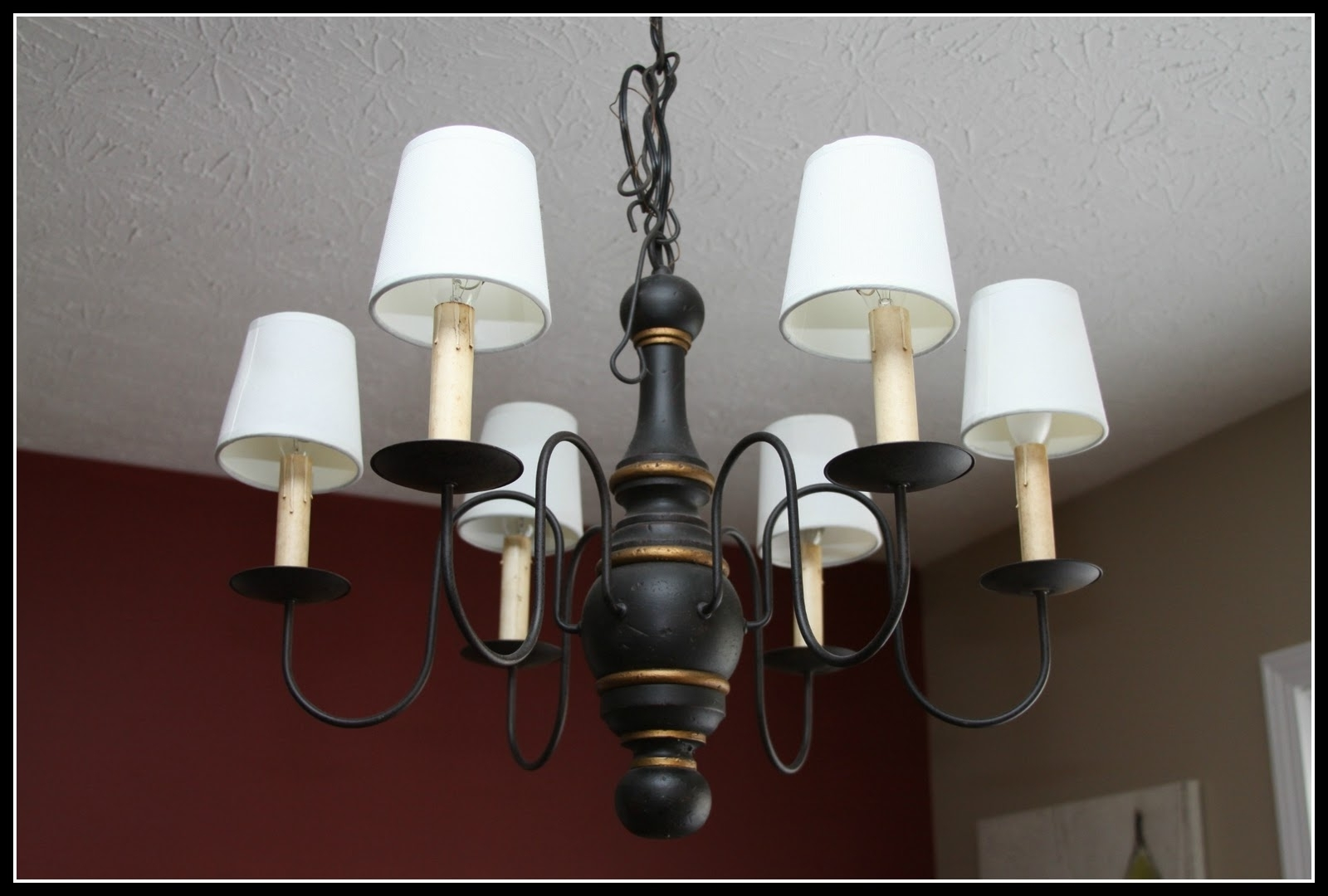 Recent Cool Lamp Shades For Chandeliers Hanging Lamp Shade Six Lamps And Throughout Lampshades For Chandeliers (View 5 of 15)