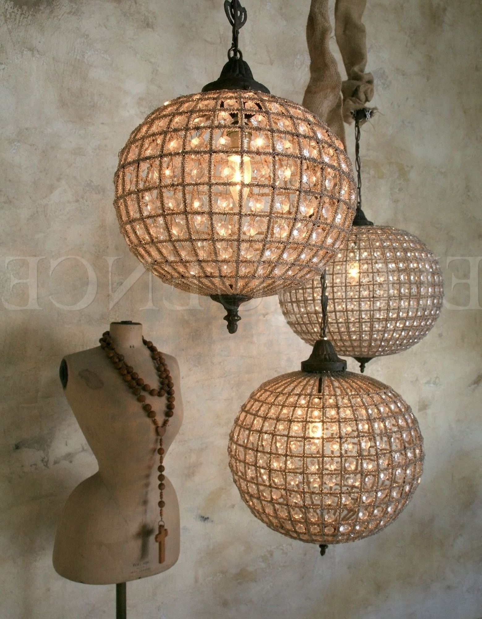 Featured Photo of Eloquence Globe Chandelier
