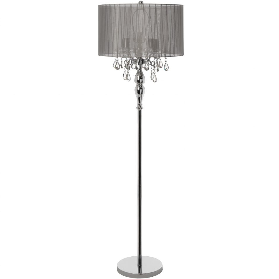 Recent Standing Chandelier Floor Lamps Pertaining To Light Bulb For Standing Lamp Paper Shade Floor Old Lamps Tiffany (View 8 of 15)
