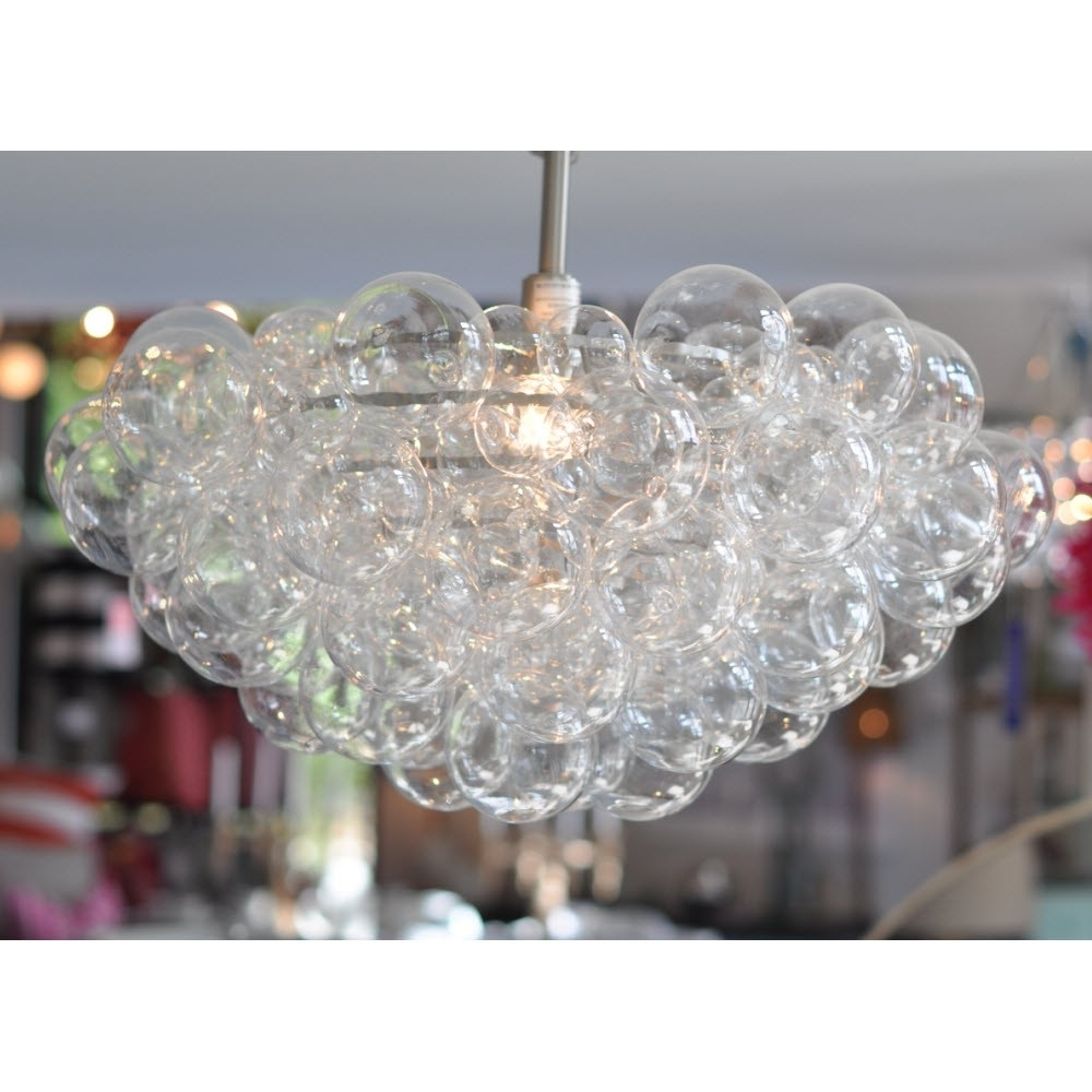 Regina Andrew Design Bubbles Chandelier – Clear (View 5 of 15)