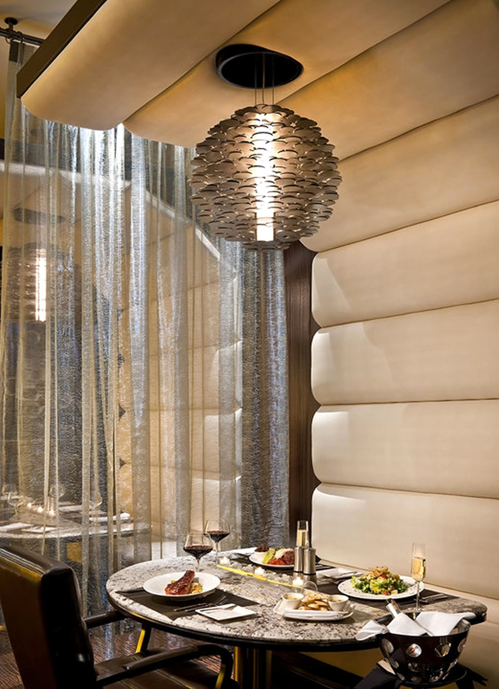 Restaurant Chandelier Within 2017 Restaurant Chandelier Lighting Design Of Atlantis Steakhouse, Reno (View 5 of 15)