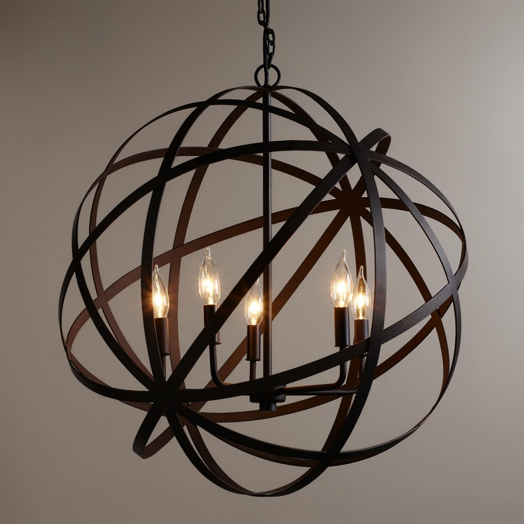 Rustic Large Chandeliers (View 7 of 15)
