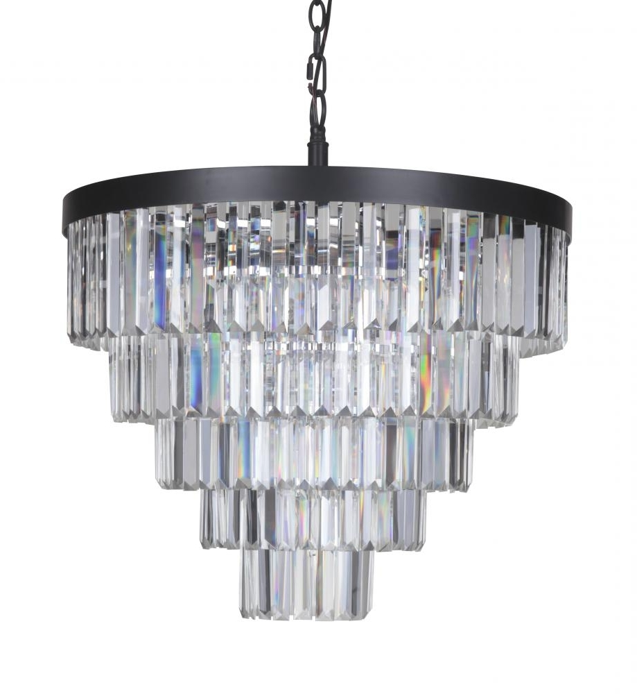 Featured Photo of Large Art Deco Chandelier