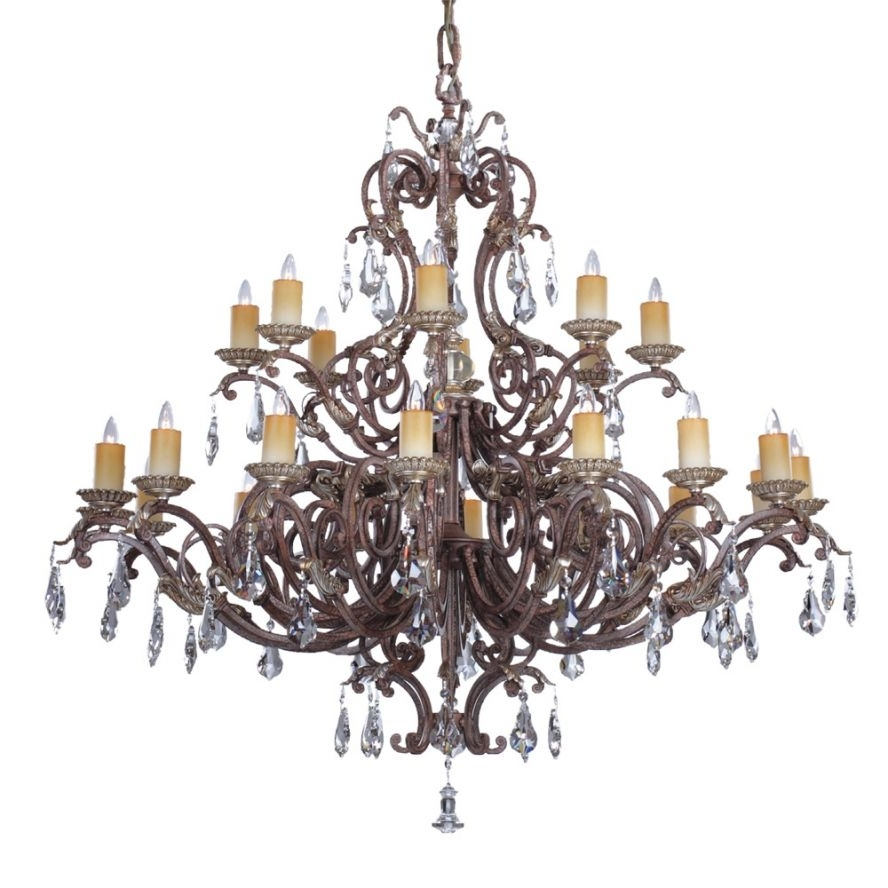 Savoy House Chandeliers Within Trendy Products · Viena 24 Light Chandelier · Savoy House Europe. S.l (View 13 of 15)