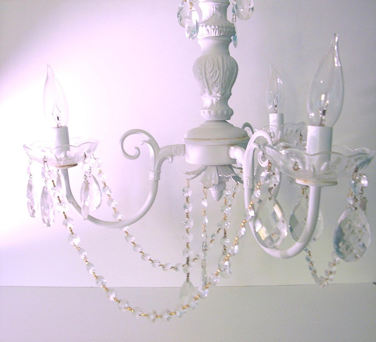 Shabby Chic Chandeliers Pertaining To Most Up To Date Chandeliers : Shabby Chic Chandeliers Best Of Shabby Chic (View 8 of 15)