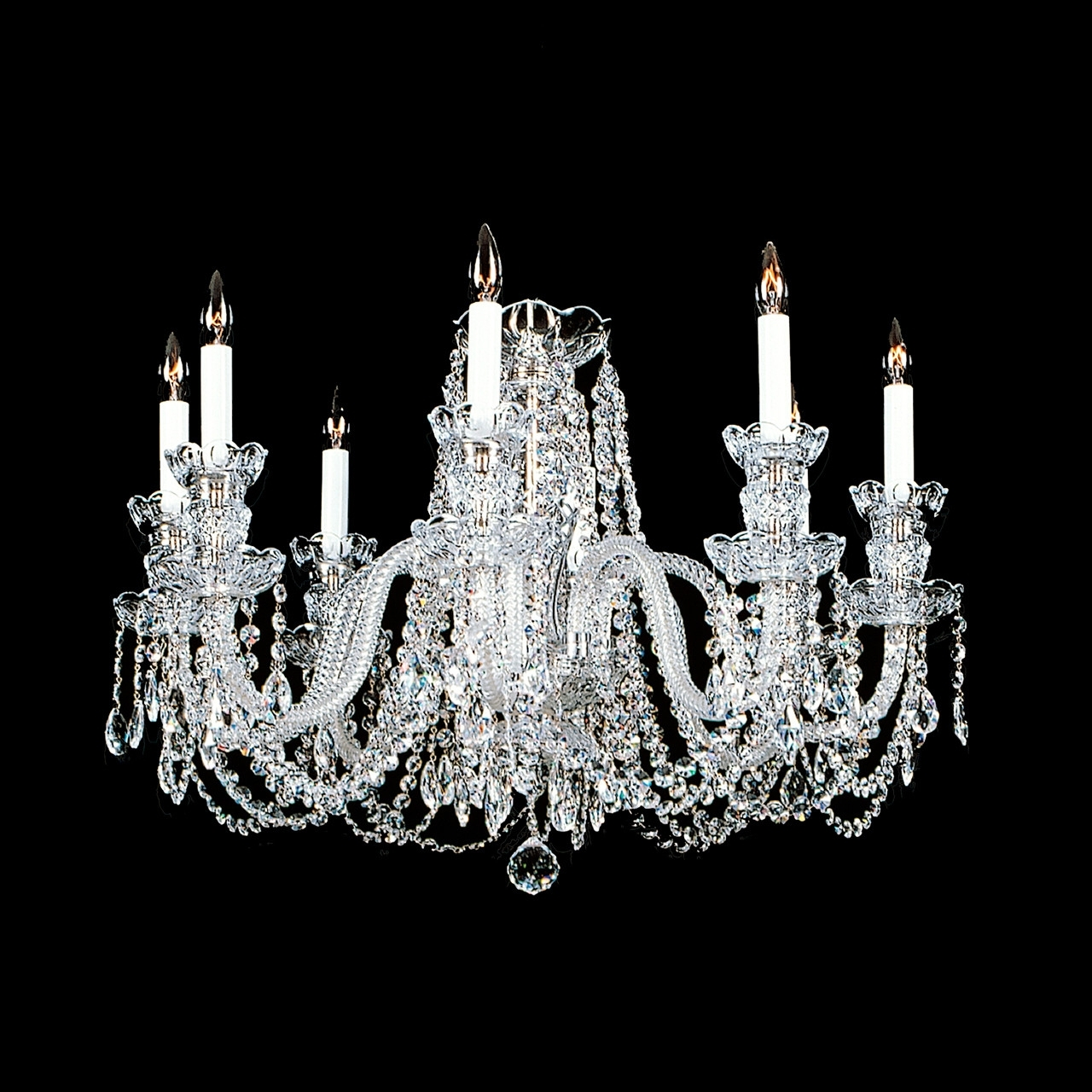 Short Chandeliers Within Most Recently Released Crystal Chandelier Category : Swarovski Crystal Chandelier Mini (View 12 of 15)