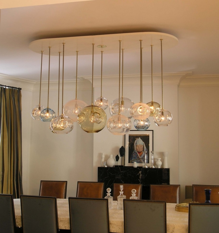 Simple Glass Chandelier Intended For Favorite Original Classic Dining Room Chandeliers Picture Listed In: Simple (View 7 of 15)