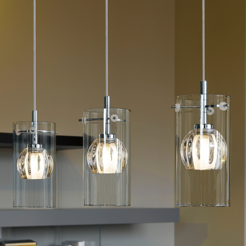 Simple Glass Chandelier Pertaining To 2017 Pendant Lights ~ Simple Glass Pendant Lights : The Beauty Glass (View 3 of 15)