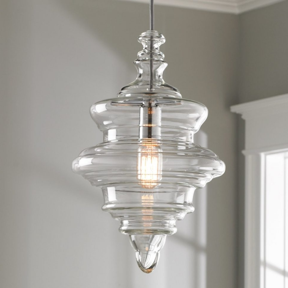 Simple Glass Chandelier Pertaining To Fashionable Chandeliers : Chandelier And Pendant Lighting Sets Flush Light (View 5 of 15)