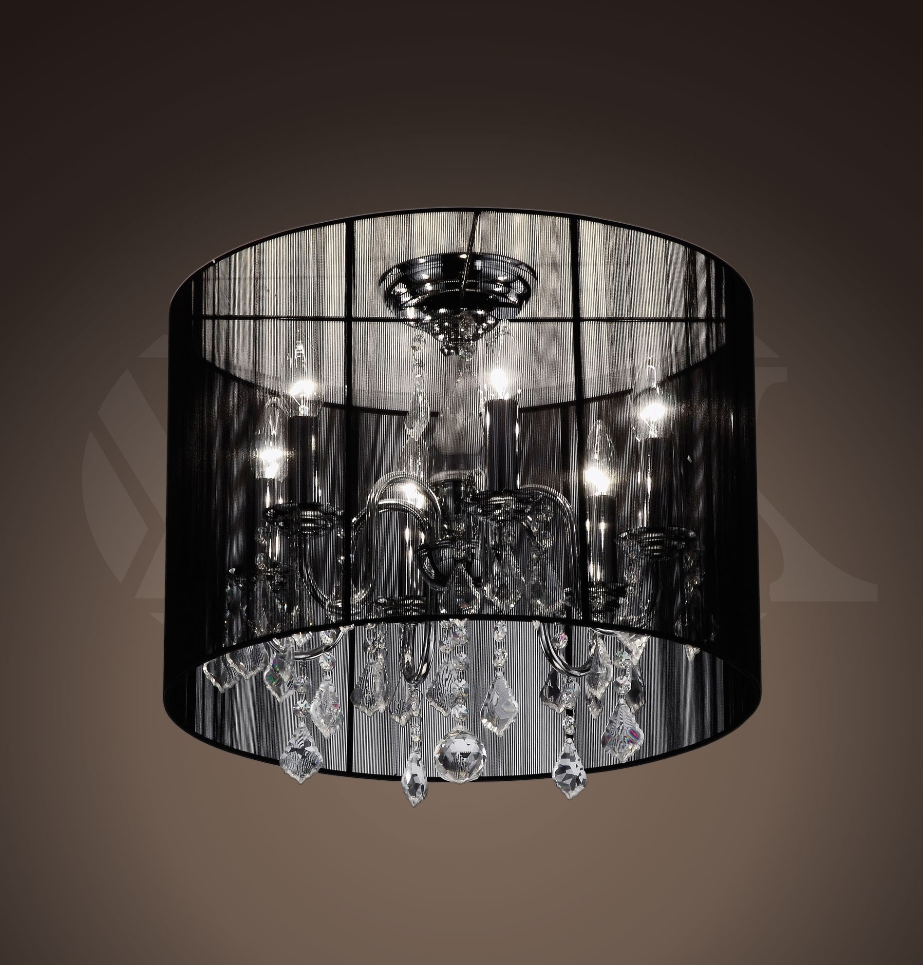 Simple Glass Chandelier Regarding Most Recent Chandeliers : Glass Chandelier Shades Fresh Chandeliers Small Black (View 11 of 15)