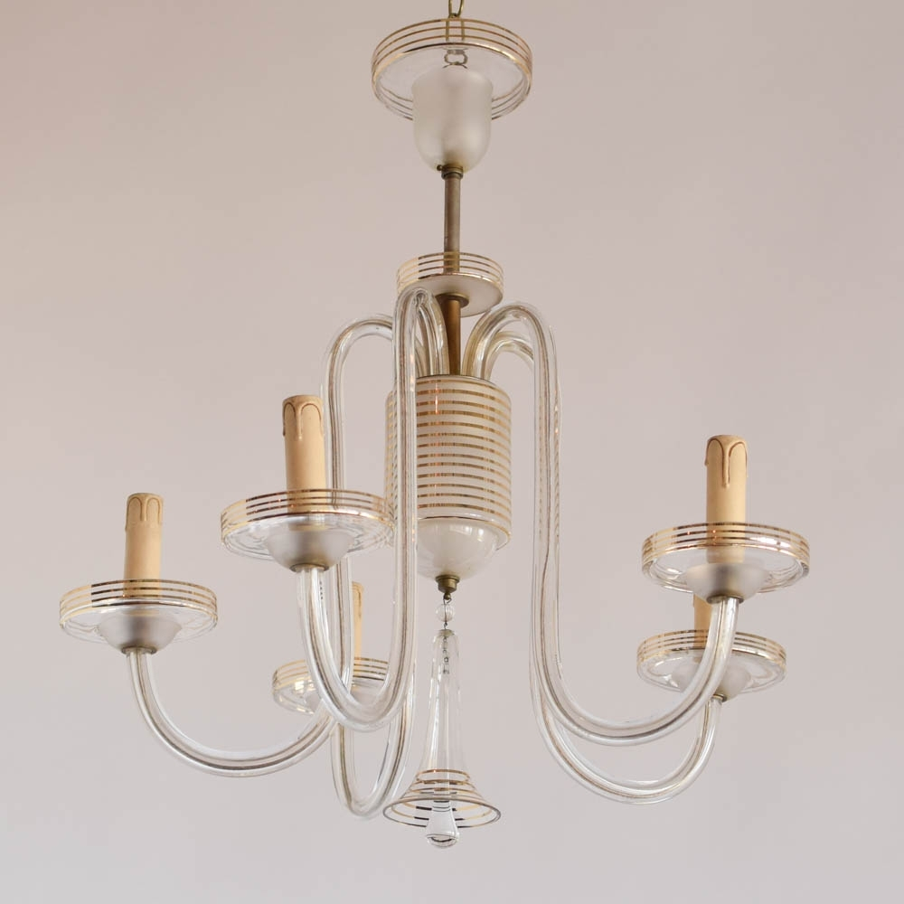 Featured Photo of Simple Glass Chandelier