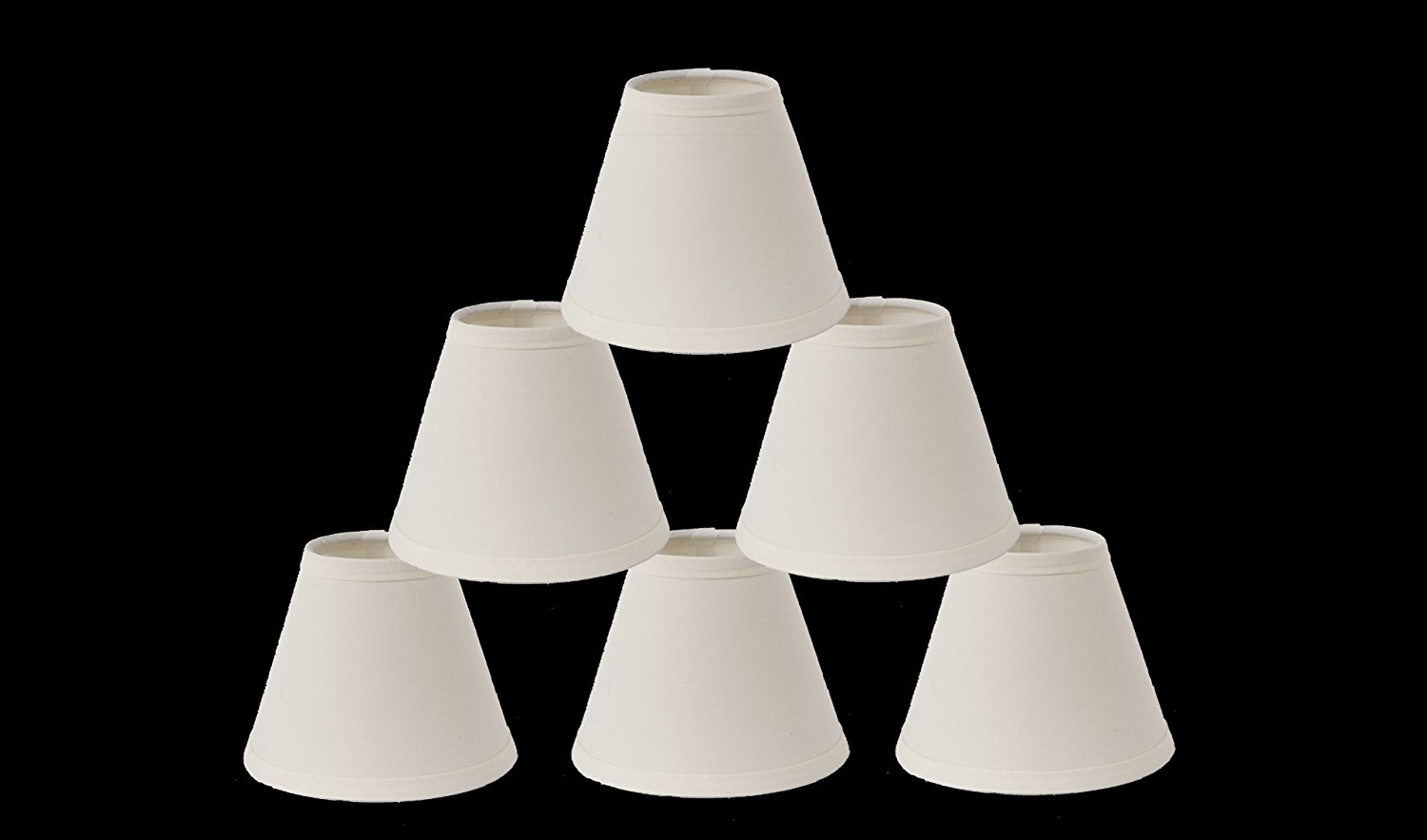 Small Chandelier Lamp Shades Regarding Popular Urbanest 1100327C Mini Chandelier Lamp Shades 6 Inch, Cotton (View 15 of 15)