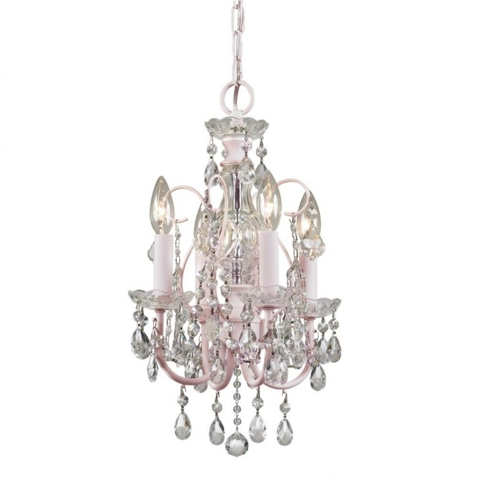 Small Chandeliers In Preferred Chandeliers : Nice Bathroom Chandeliers Crystal Sparkling Small (View 11 of 15)
