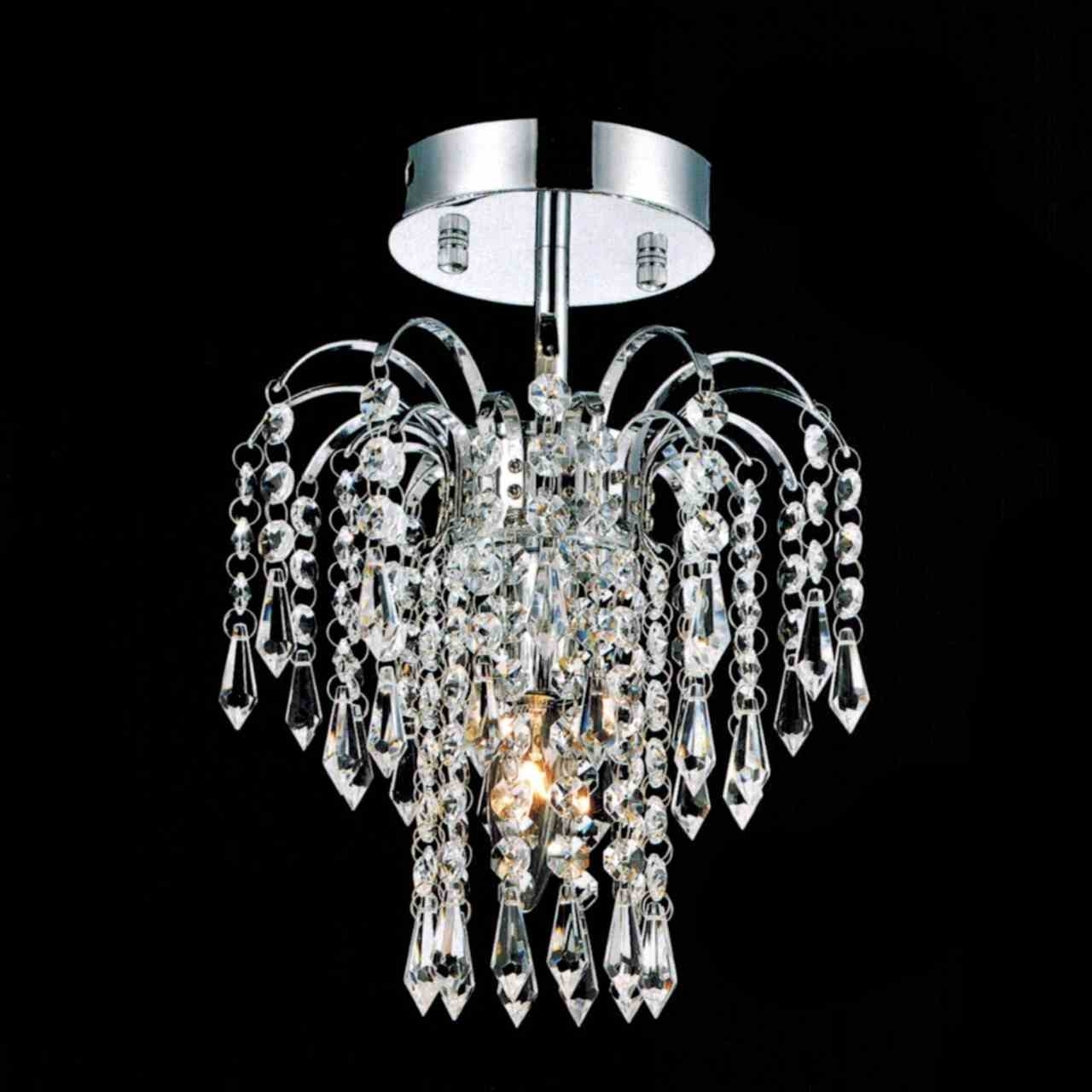 Small Chrome Chandelier Intended For Best And Newest Brizzo Lighting Stores (View 11 of 15)