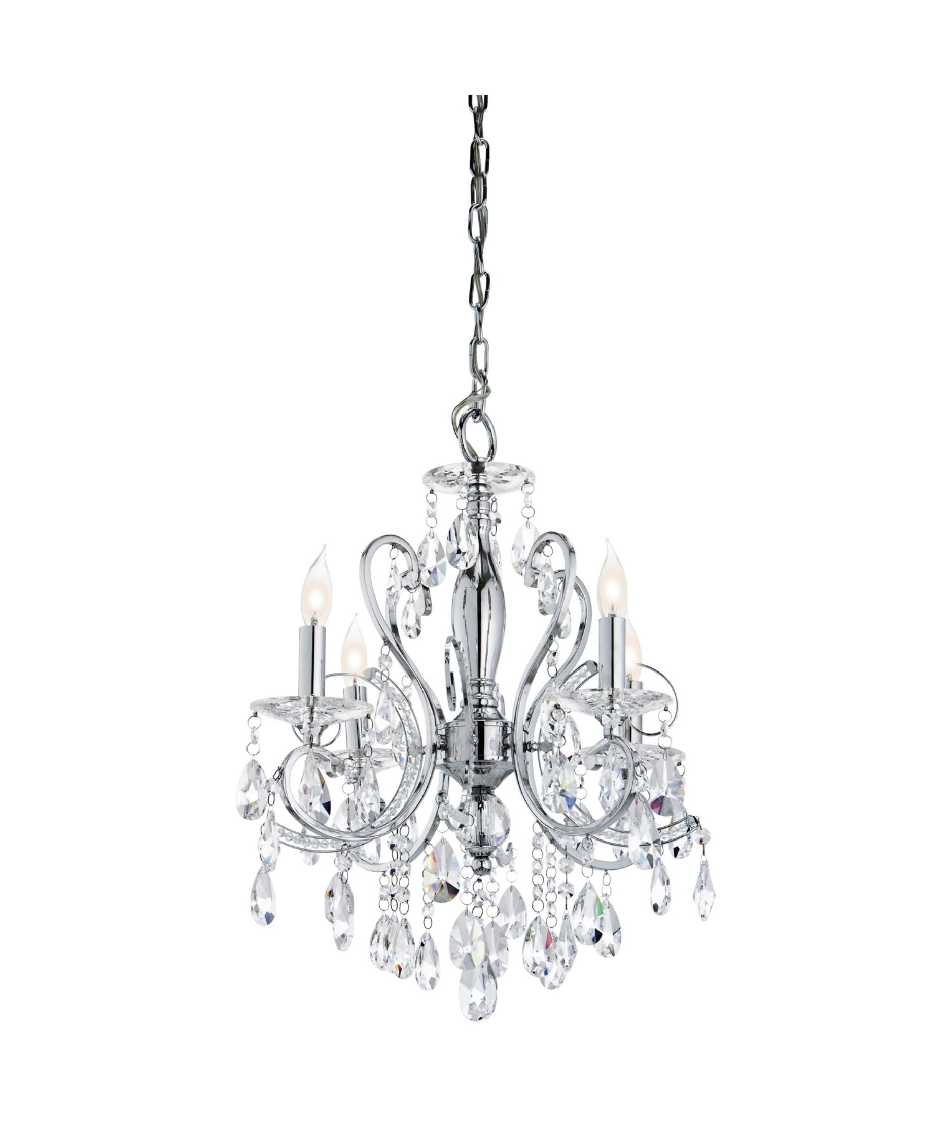 Small Chrome Chandelier With Favorite Nice Mini Chandelier For Bathroom #7 Mini Crystal Chandelier (View 11 of 15)