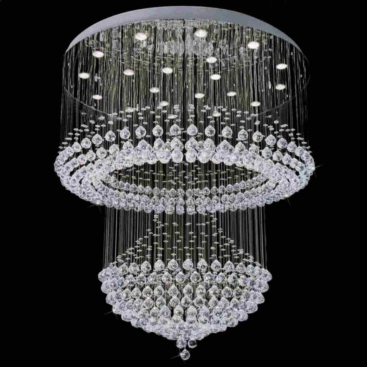 Small Crystal Chandelier Table Lamps Within Newest Small Crystal Chandelier (View 13 of 15)