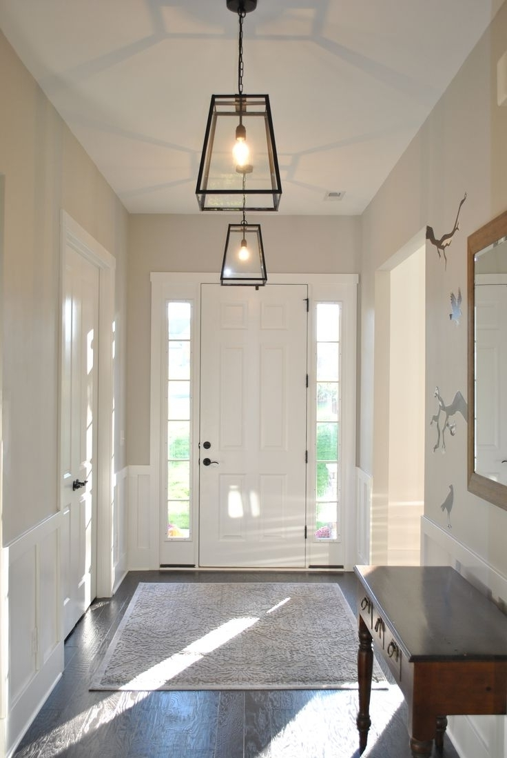 Small Hallway Chandeliers Pertaining To Most Recently Released Best 25 Foyer Lighting Ideas On Pinterest Hallway Lighting Inside (View 6 of 15)