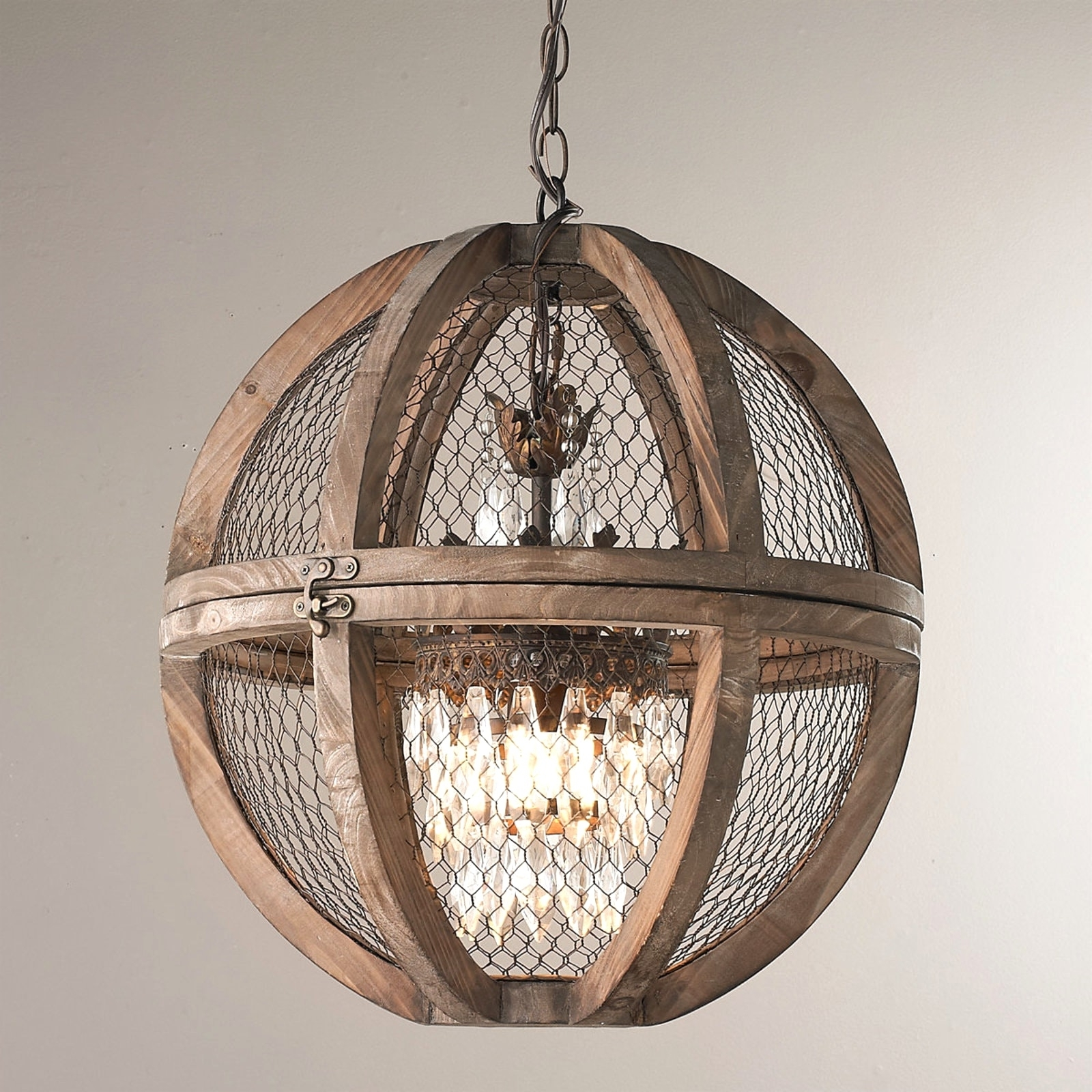 Featured Photo of Small Rustic Crystal Chandeliers