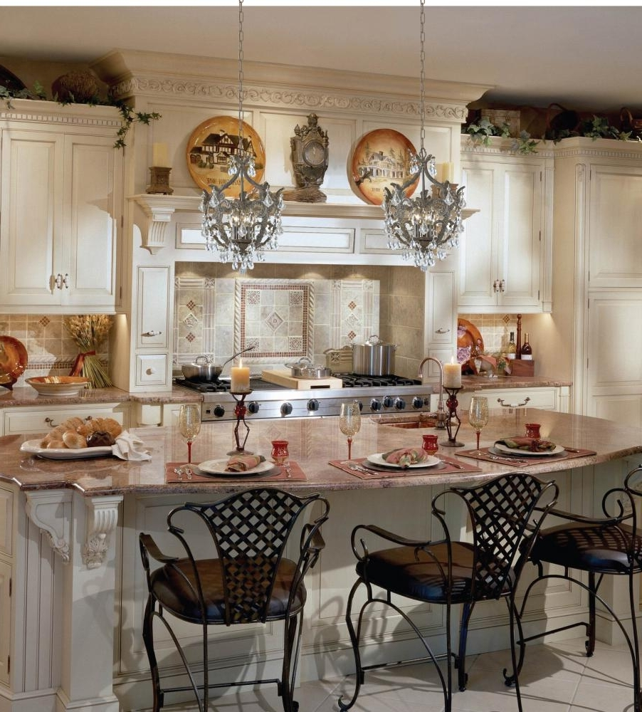 Small Rustic Kitchen Chandeliers Pertaining To Preferred Kitchen : Drum Pendant Chandelier Customize Kitchen Lighting With (View 12 of 15)