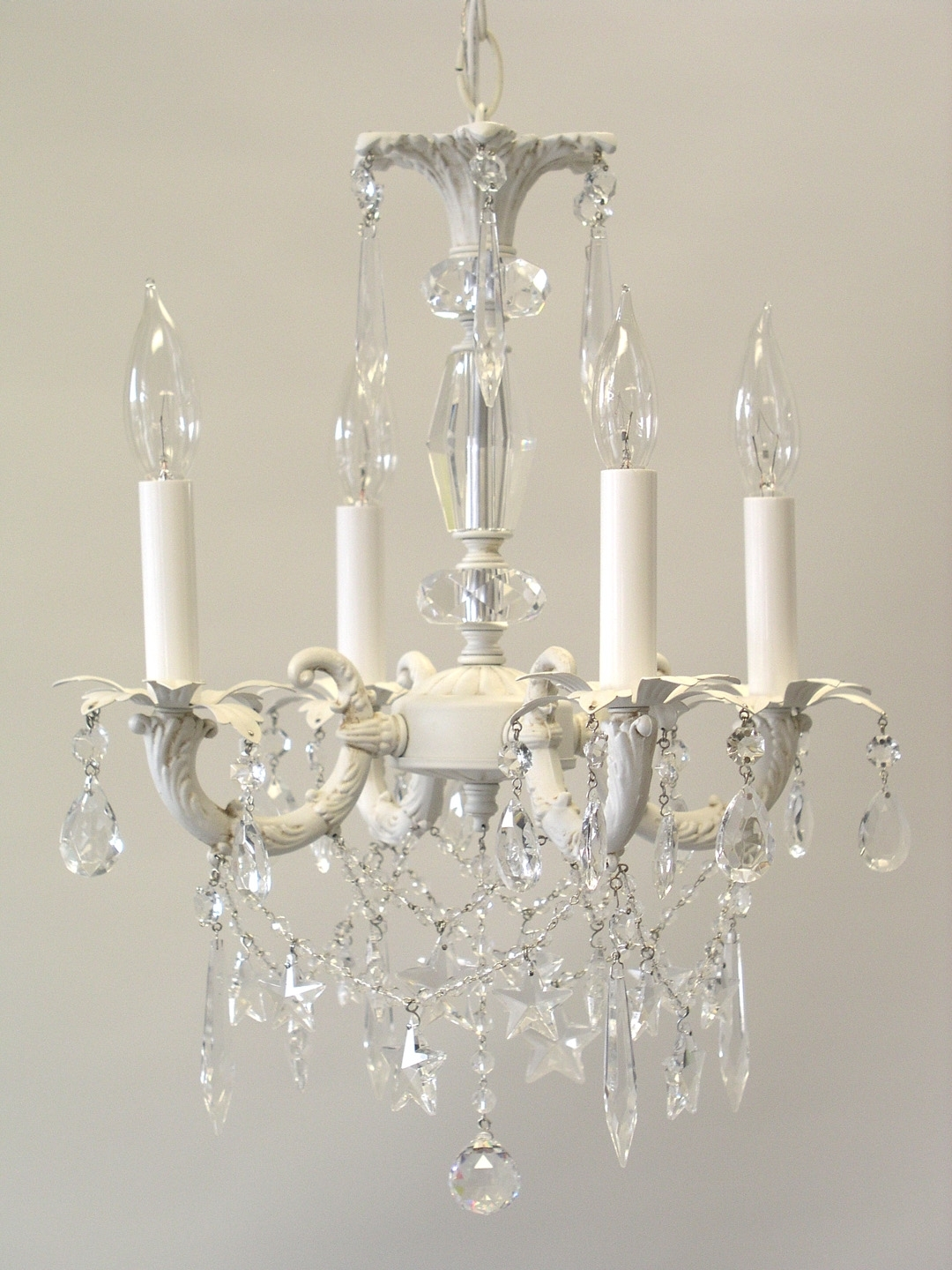 Small Shabby Chic Chandelier For 2017 More Shabby Chic Style Chandeliers (View 4 of 15)