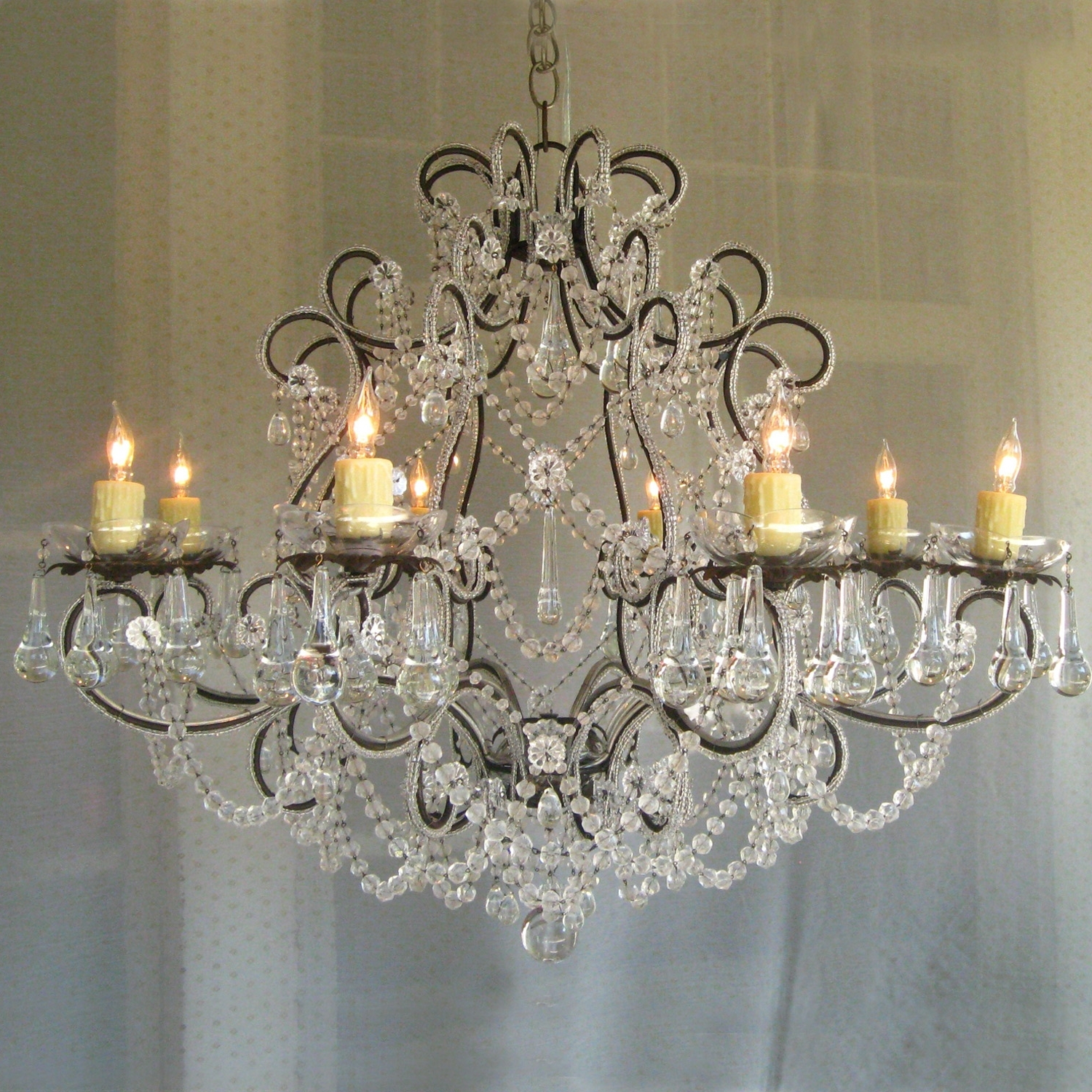 Small Shabby Chic Chandelier For Well Known Chandelier (View 12 of 15)